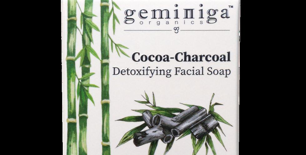 Cocoa-Charcoal Detoxifying Facial Soap
