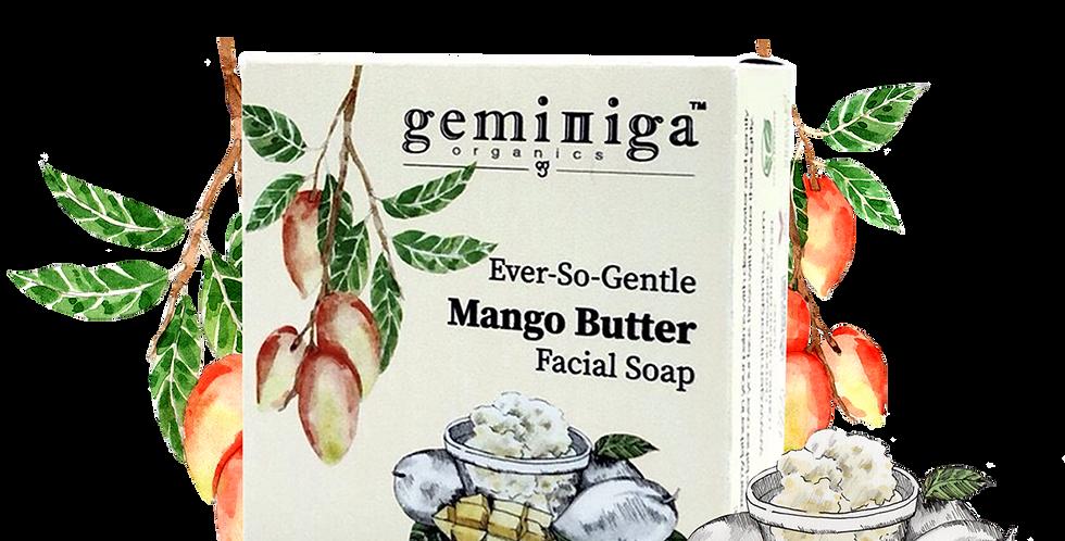 Ever-So-Gentle Mango Butter Facial Soap