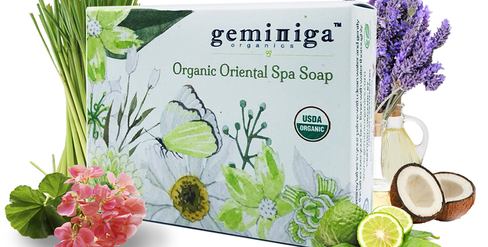 Organic Oriental Spa Soap