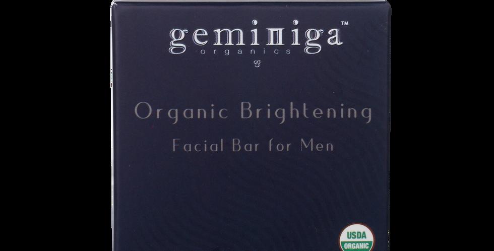 Organic Brightening Facial Bar for Men