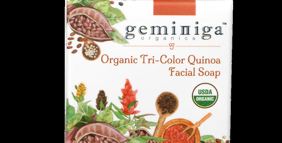 Organic Tri-color Quinoa Facial Soap