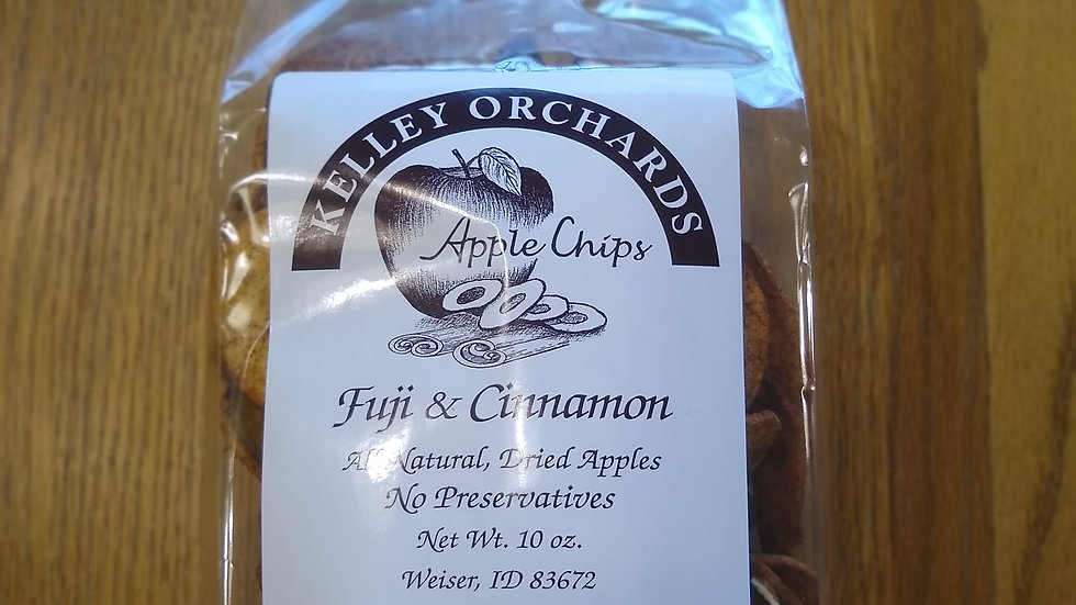 Fuji Apple Chips with Cinnamon