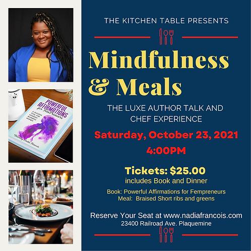 Mindfulness & Meals Ticket