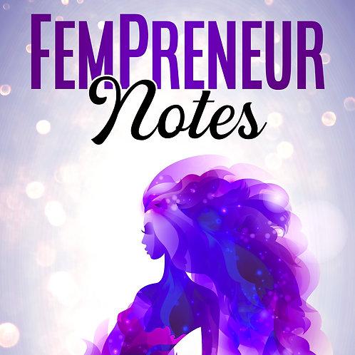 12 Pc FemPreneur Notes Wholesale Bundle