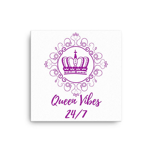 Queen Vibes Canvas
