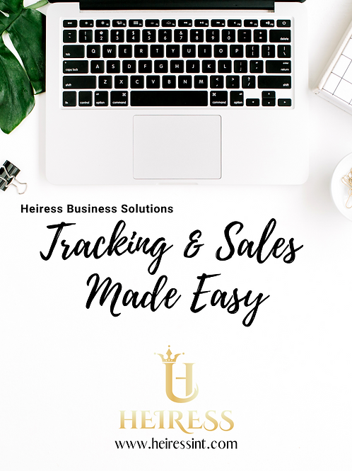 Tracking & Sales Webinar *** January 8***