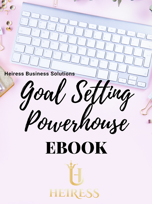Goal Setting Powerhouse Ebook