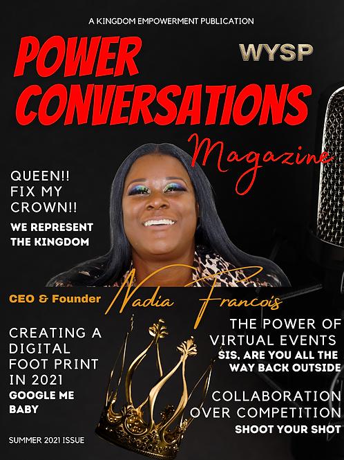 Power Conversations Magazine Subscription