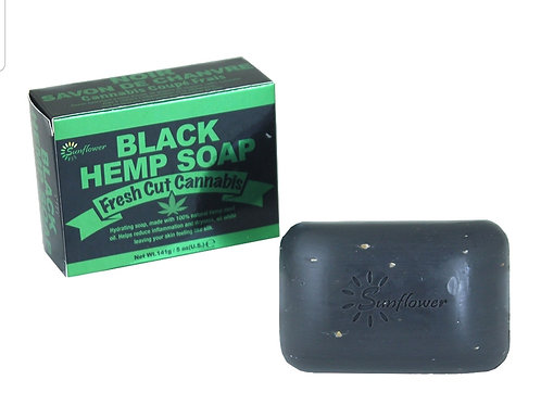 Black Hemp Soap