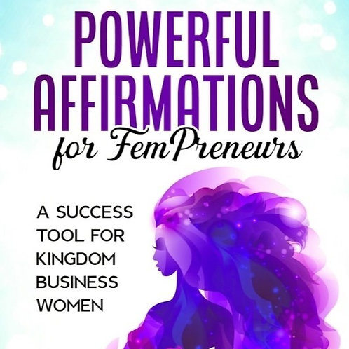 12 Pc Powerful Affirmations for FemPreneurs Wholesale Bundle