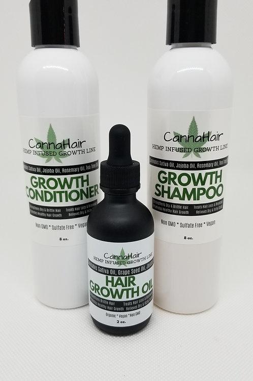 CannaHair Growth System (3pc)