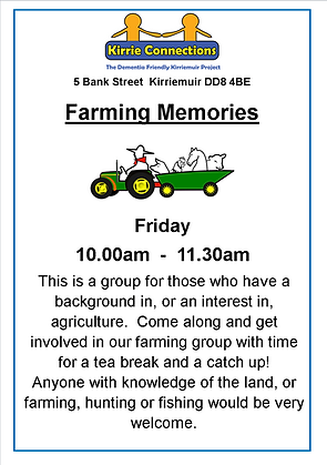 Farming Memories Group fyer Jan-Mar 2019