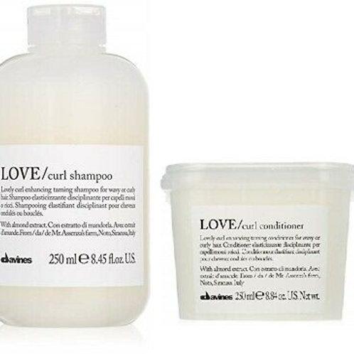 Davines Love Curl Shampoo and Conditioner