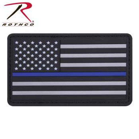 Rothco Thin Blue Line PVC Patch
