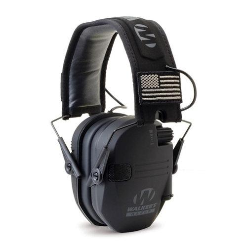 Razor Slim Electronic Muff - Black
