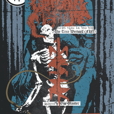 Artwork and design, Martyrdoom aftershow, 2015. CLIENT: Signature Riff, NY