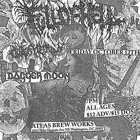 Full of Hell Flyer