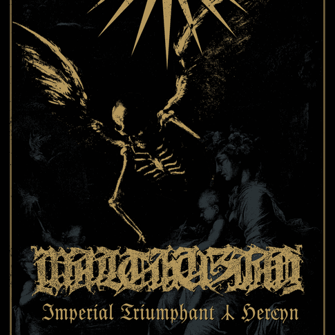Artwork and design, Malthusian gig, 2015. CLIENT: Signature Riff