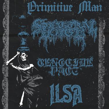 Primitive Man / Spectral Voice flyer