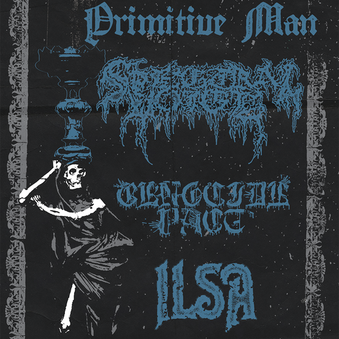 Primitive Man / Spectral Voice flyer