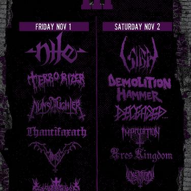 Mass Destruction Fest poster