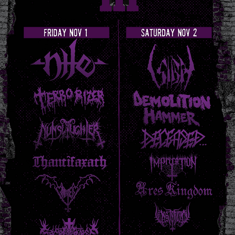 Mass Destruction Fest poster