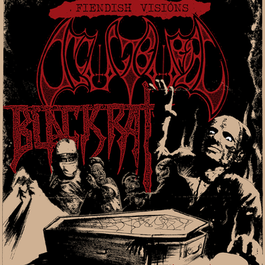 Occult Burial flyer