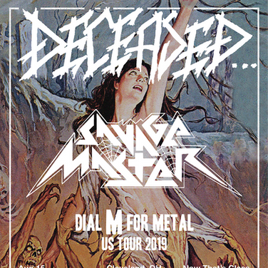 Deceased tour poster