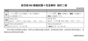 《新日檢N3模擬試題+完全解析  修訂二版》.jpg