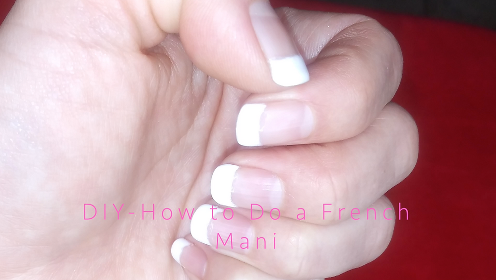 ElizabethSite.com | Vivian Elizabeth Marquez | How to Do a Quick and Inexpensive At Home DIY French Mani- Tutorial (or How to do a Fast Fix on a French Mani Nail). Blog Post: May 2019