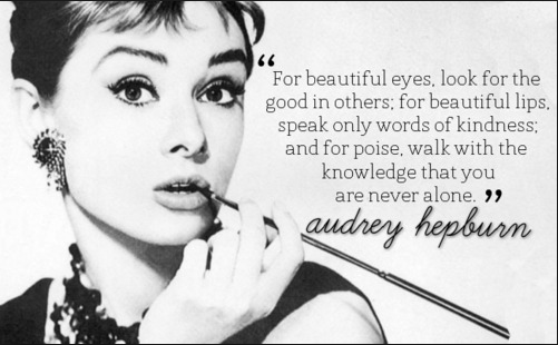 Vivian Elizabeth Marquez | Audrey Hepburn | ElizabethSite | Sugar Baby | Beauty Health Blog | Vegan