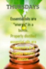 ElizabethSite Thursday Daily 20 - Essential Oils