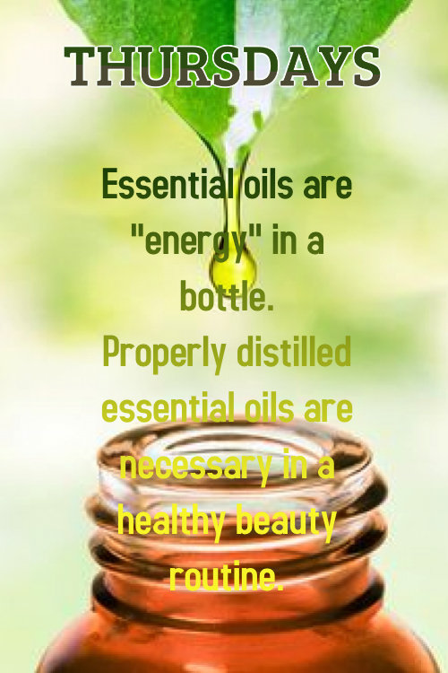 ElizabethSite Thursday Daily 20 - Essential Oils