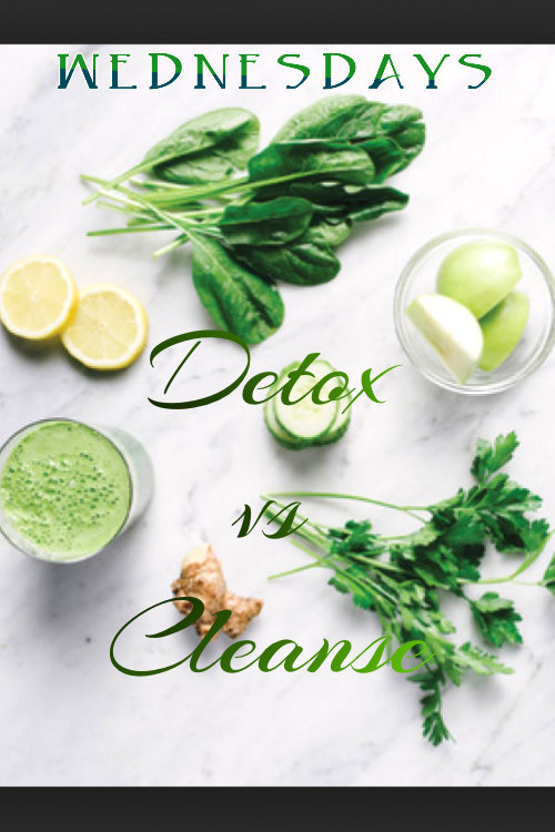 ElizabethSite Wednesday Group Class - Detox vs Cleanse