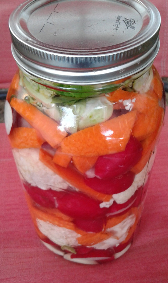 2 Recipes: How to make probiotic-rich, fermented veggies without salt and with sea salt brine