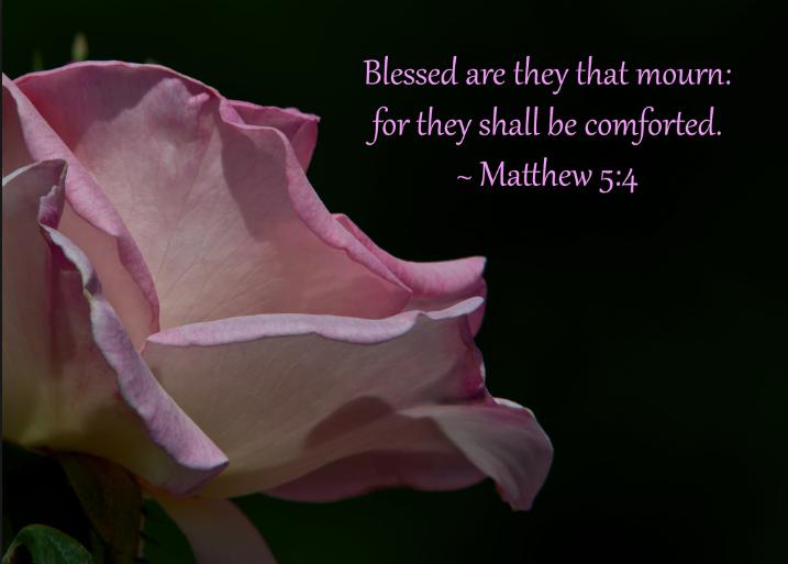 Matthew 5:4 | Vivian Elizabeth Marquez | ElizabethSite