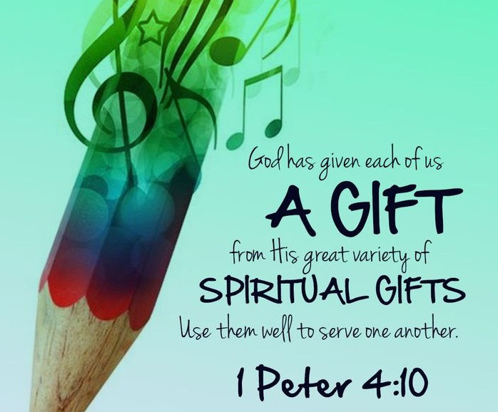 1 Peter 4:10 | Vivian Elizabeth Marquez | ElizabethSite | God's Gifts for us