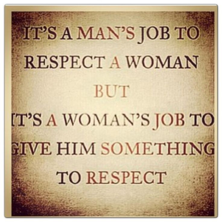 Women, Give A Man Something To Respect! | ElizabethSite | Vivian Elizabeth Marquez | Health Beauty Wellness Blog