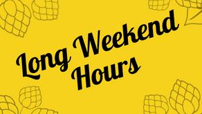 May 2-4 Bonus Hours!