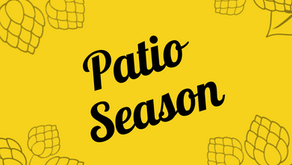 Patio Season starts JUNE 11!
