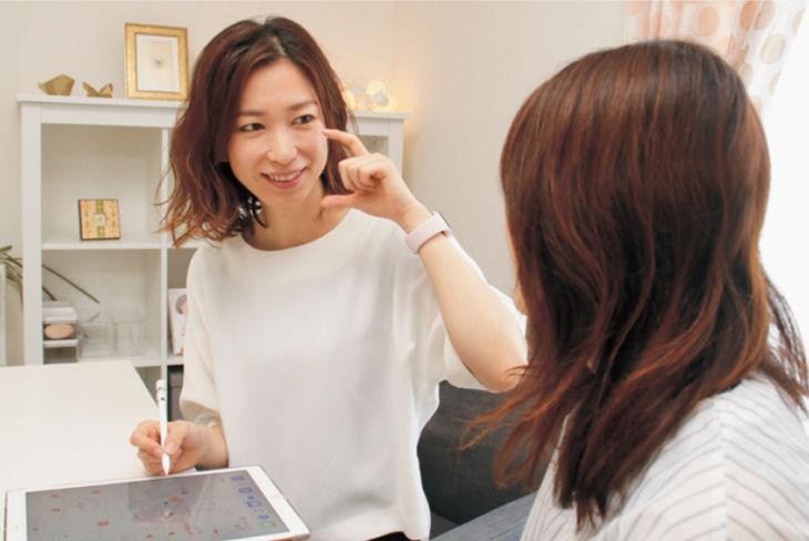 顔バランス分析(対面)