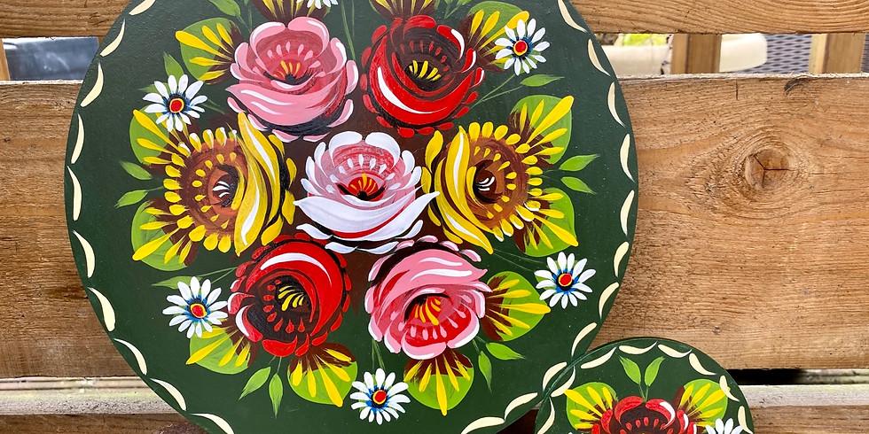 Beginners Canal Art Roses