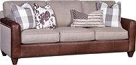 7786LF Sofa Herringbone Antique Brown_He