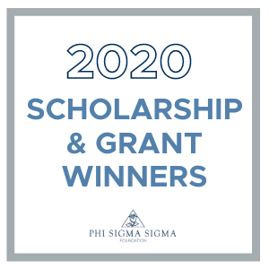 2020 Foundation Scholarship Winners