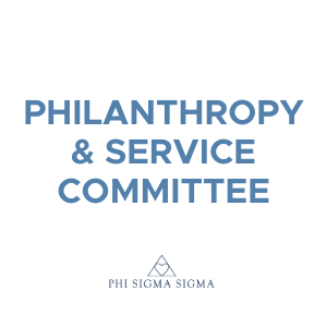 Join the Philanthropy & Service Committee