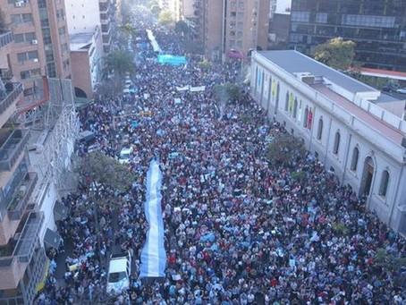 Millones de argentinos pidieron a los senadores rechazar el aborto