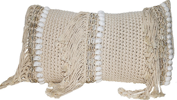 Antique Macramé Gaab Cushion