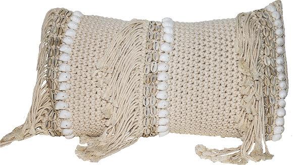 Antique Macramé Gaab Cushion