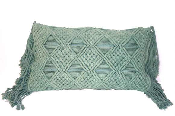 Maho Macramé Gaab Cushion
