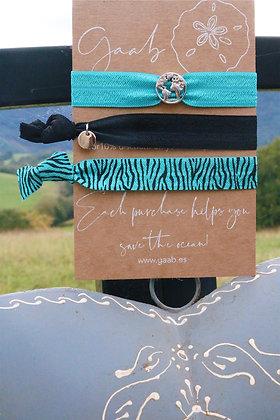 Into the Deep Blue Bracelet & Hairband Set